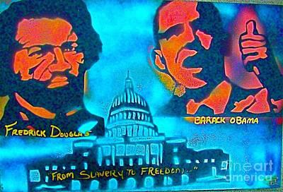 From Slavery To Freedom Print by Tony B Conscious