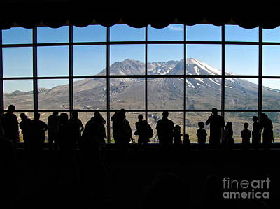 Nature Photograph - From The Visitor Center by Sean Griffin
