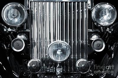 Headlight Photograph - Front Grid by Carlos Caetano