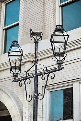 Front Street Lamp Print by Brenda Bryant