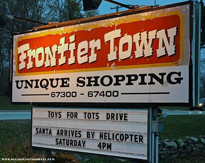 Girl Photograph - Frontier Town Santa Arrival by LeeAnn McLaneGoetz McLaneGoetzStudioLLCcom