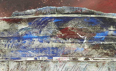 Frosted Landscape Print by Adele Greenfield