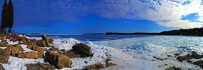 Frozen Lake Print by Photography Art