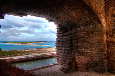 Architecture Photograph - Ft. Jackson And Its Horizon by Andres Leon