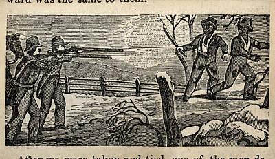 Fugitive Slave Henry Bibb Was Captured Print by Everett