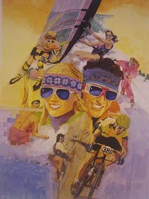 Fun In The Sun Original by Chuck Hamrick