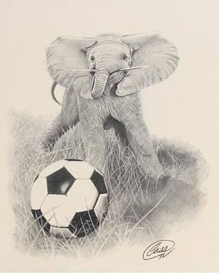 Fun Is Having A Ball Original by Albert Casson
