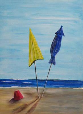 Funbrellas Plus One Print by Wayne Miller
