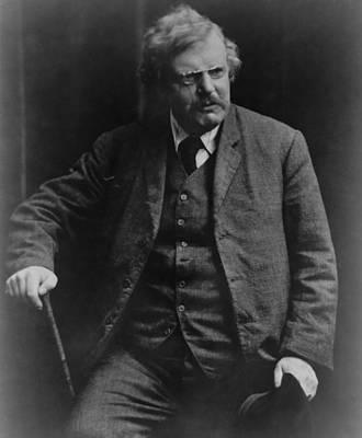 2008-2 Photograph - G. K. Gilbert Keith Chesterton by Everett