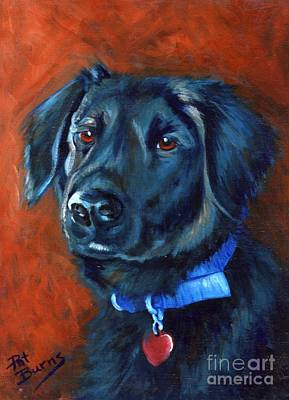 Animal Shelter Painting - Gabby by Pat Burns