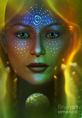Gaia 2 Print by Shadowlea Is