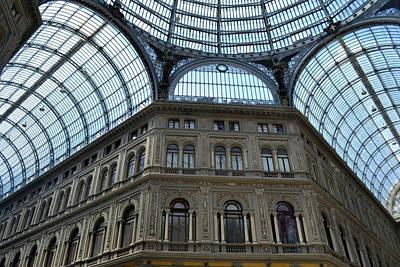 Galleria Umberto 1 Print by Terence Davis