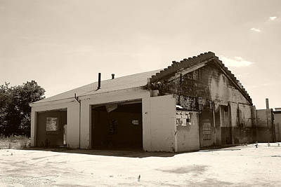 Garage No More Print by Nina Fosdick