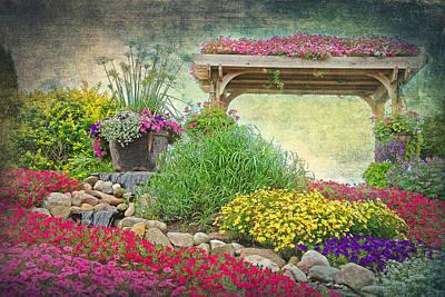 Garden Of Eden Print by Maria Dryfhout