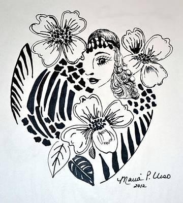 Garden Of Eve Print by Maria Urso