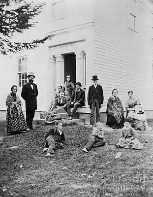 Garfield Family, 1881 Print by Granger