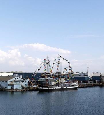 Photograph - Gasparilla Pirate Ship by Riley Geddings