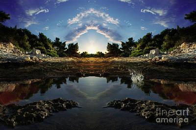 Buy Digital Art - Gate To Paradise by Bruno Santoro