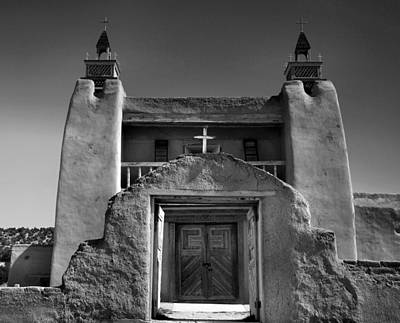 Adobe Church Photograph - Gate To San Jose De Gracia by Steven Ainsworth