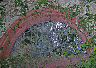 Gate To The Courtyard Print by Patricia Taylor