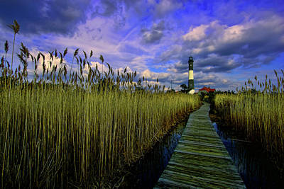 National Seashore Photograph - Gathering Clouds by Rick Berk