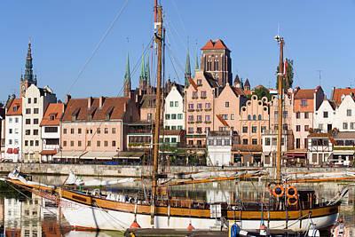 Danzig Photograph - Gdansk In Poland by Artur Bogacki