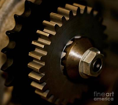 Gears  Print by Wilma  Birdwell