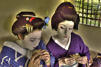 Geisha Lunch Print by William Fields