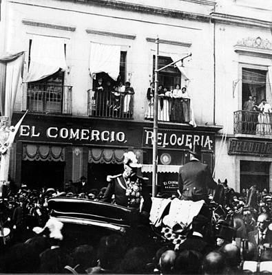 Diaz Photograph - General Porfirio Diaz - President Of Mexico - C 1906 by International  Images