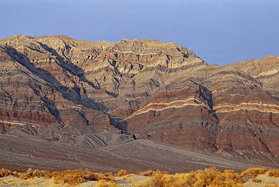 Eureka Valley Photograph - Geological Layers Are Visible by Gordon Wiltsie