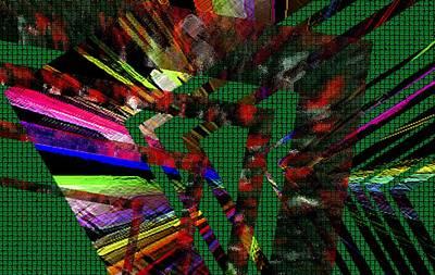 Mixed Digital Art - Geometric Digital Art by Mario Perez