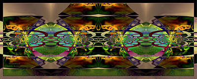 Huge Assemblage Photograph - Geometrica by Robert Kernodle