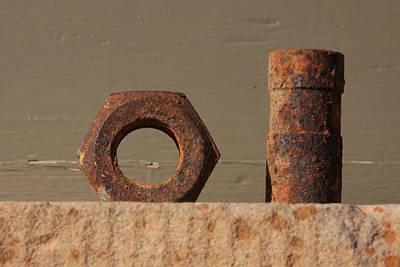 Geometry In Rust Original by Cynthia Cox Cottam