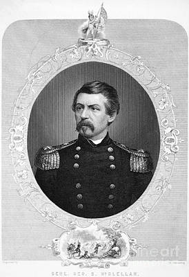 Brinton Photograph - George Brinton Mcclellan by Granger