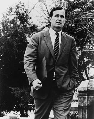 George Bush As A U.s. Congressman Print by Everett