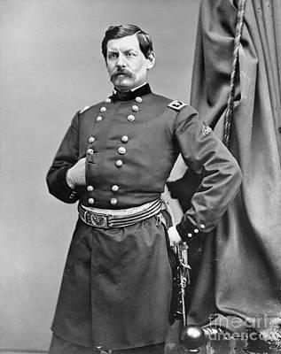 Brinton Photograph - George Mcclellan (1826-1885) by Granger