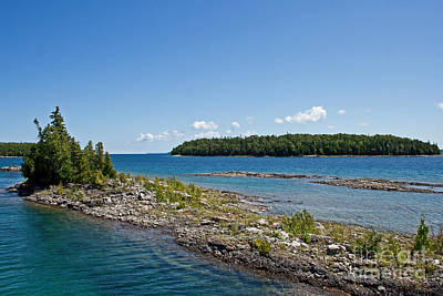 Canada Photograph - Georgian Bay Channel by Barbara McMahon