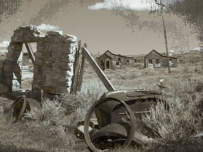 Ghost Town Series 3 Print by Philip Tolok
