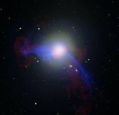 Virgo Photograph - Giant Elliptical Galaxy M87 by Nasacxcnraostscir Gendler