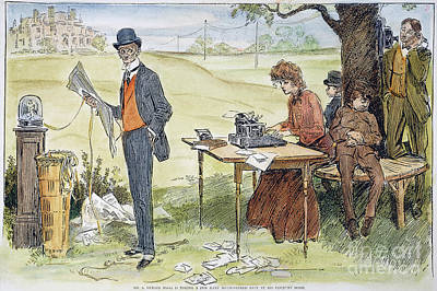 Workaholics Photograph - Gibson Art, 1903 by Granger