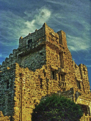 Gillette Castle Print by William Fields