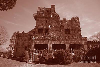 Gillette Castle.02 Print by John Turek