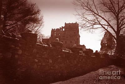 Gillette Castle.03 Print by John Turek