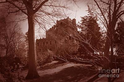 Gillette Castle.04 Print by John Turek