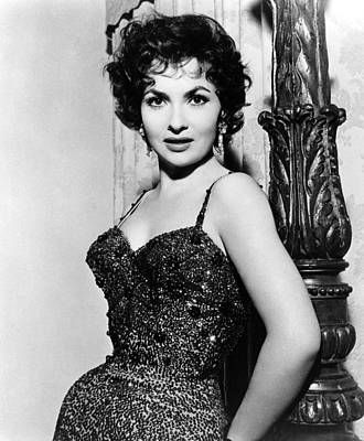 Gina Lollobrigida, Ca. 1956 Print by Everett