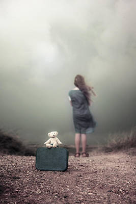 Girl In The Dunes Print by Joana Kruse