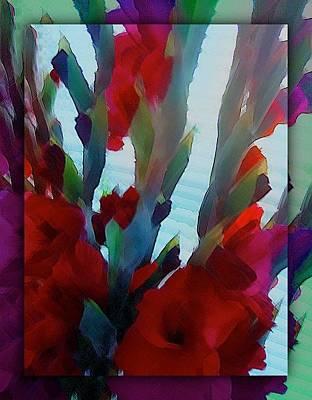 Print featuring the digital art Glad by Richard Laeton