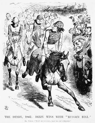Gladstone & Disraeli, 1867 Print by Granger