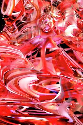 Glass Glass Art - Glass Macro Xx by David Patterson