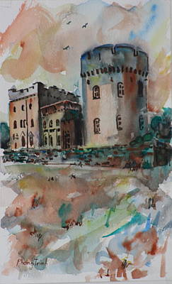 Architecture Painting - Glenstal by Phong Trinh